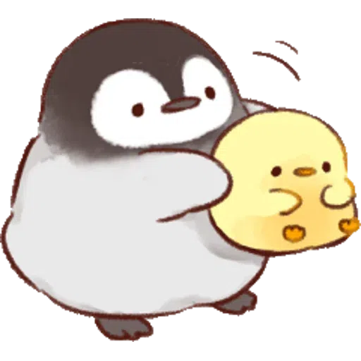 Soft and Cute Chick 0202 - Sticker 4