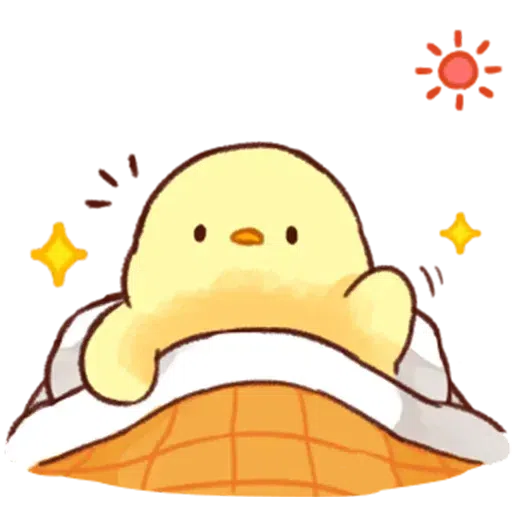 Soft and Cute Chick 0202 - Sticker 20