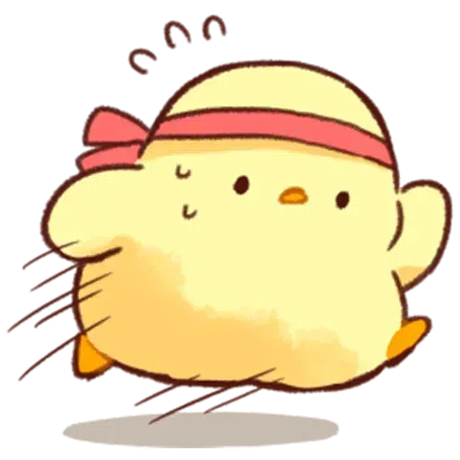 Soft and Cute Chick 0202 - Sticker 29