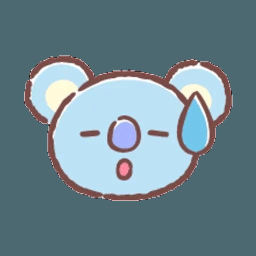 BT21(表情) - Sticker 19
