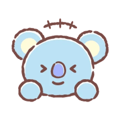 BT21(表情) - Sticker 16