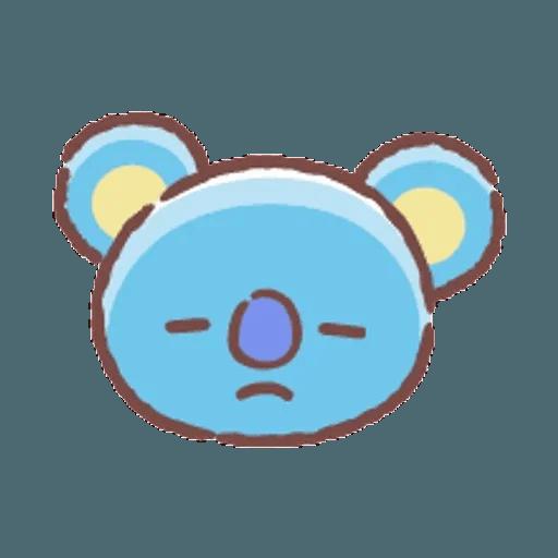 BT21(表情) - Sticker 18