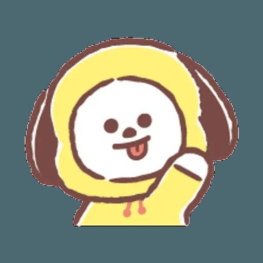 BT21(表情) - Tray Sticker