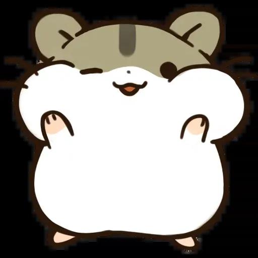 hamster - Sticker 1