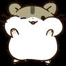 hamster - Tray Sticker