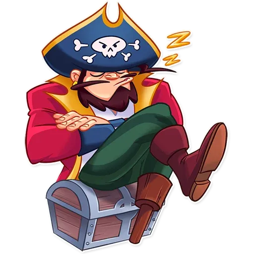 Pirate - Sticker 8