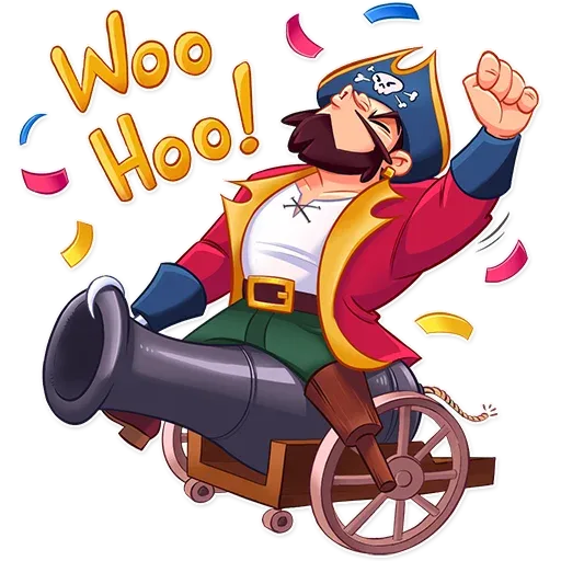 Pirate - Sticker 17