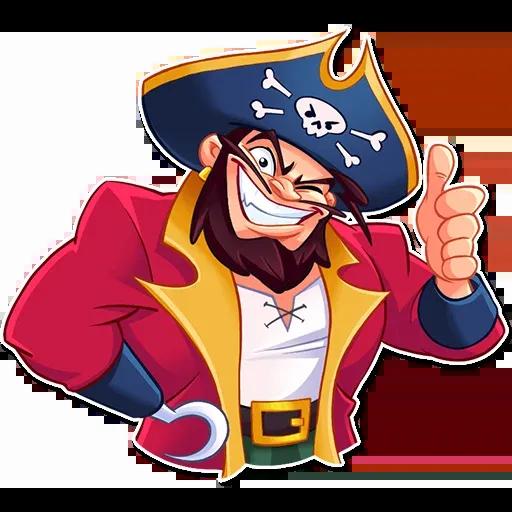 Pirate - Tray Sticker