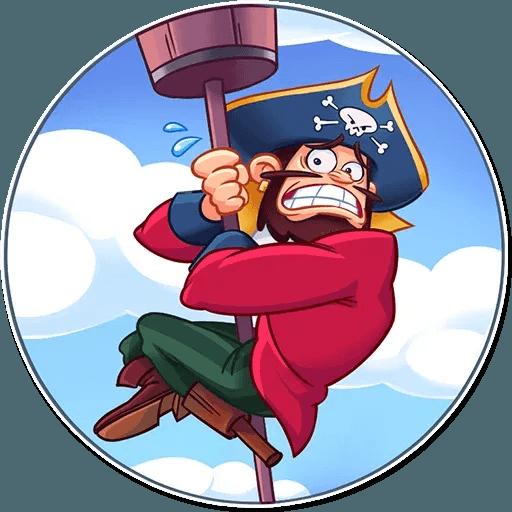 Pirate - Sticker 2