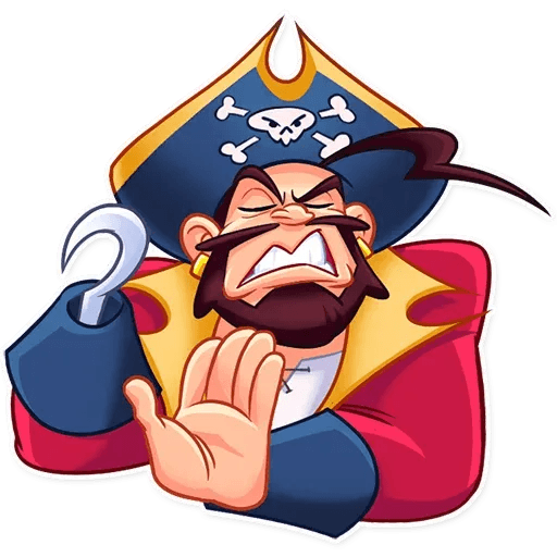 Pirate - Sticker 22