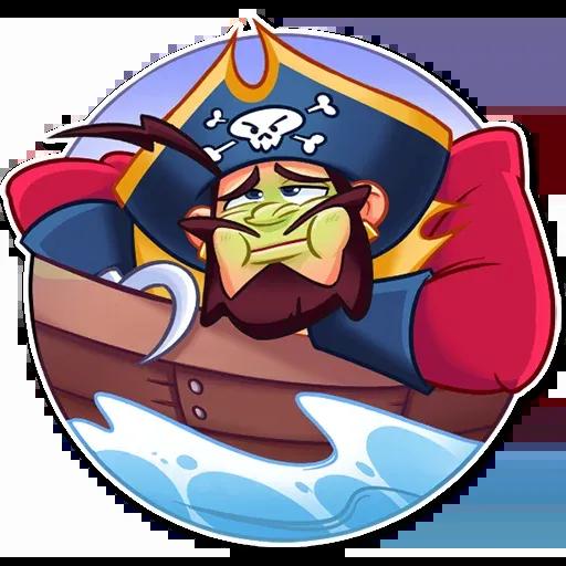 Pirate - Sticker 16