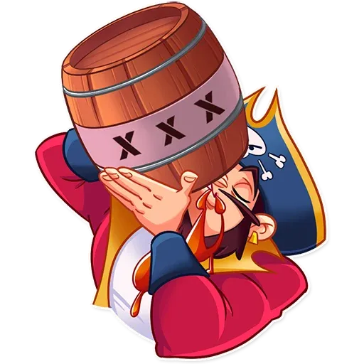 Pirate - Sticker 11