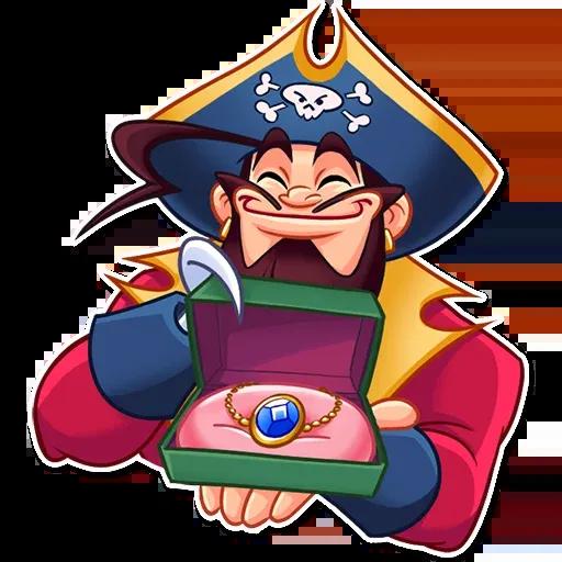 Pirate - Sticker 23