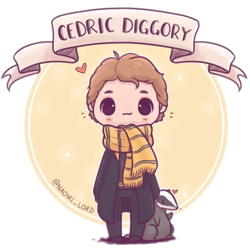 Harry Potter cute - Sticker 23