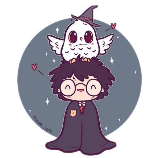Harry Potter cute - Sticker 10