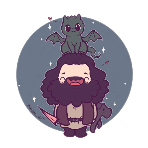 Harry Potter cute - Sticker 17