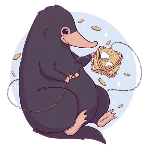 Harry Potter cute - Sticker 13