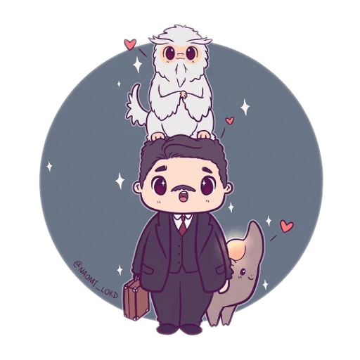 Harry Potter cute - Sticker 4