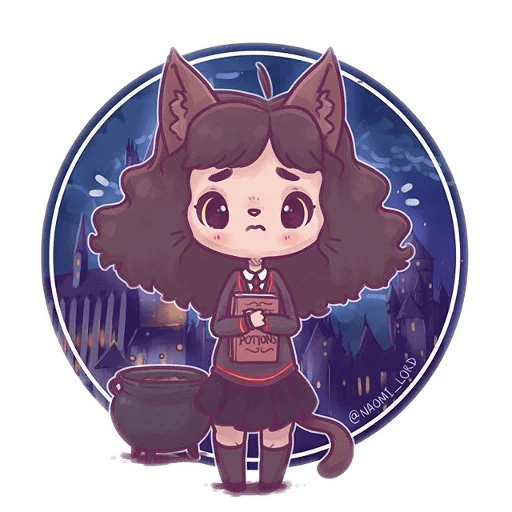 Harry Potter cute - Sticker 11