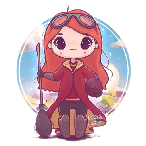 Harry Potter cute - Sticker 7