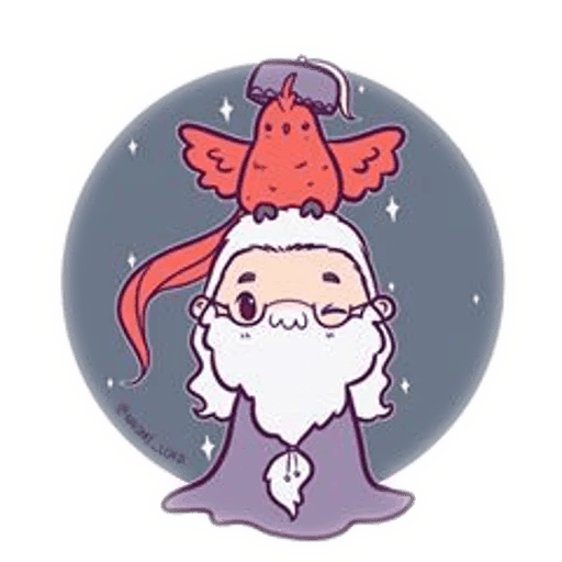 Harry Potter cute - Sticker 30