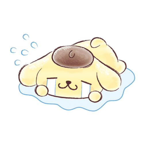 Pompompurin ball - Sticker 15