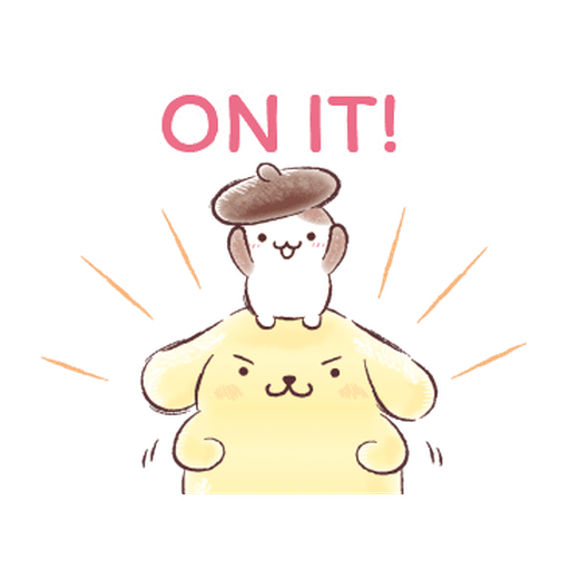 Pompompurin ball - Sticker 16