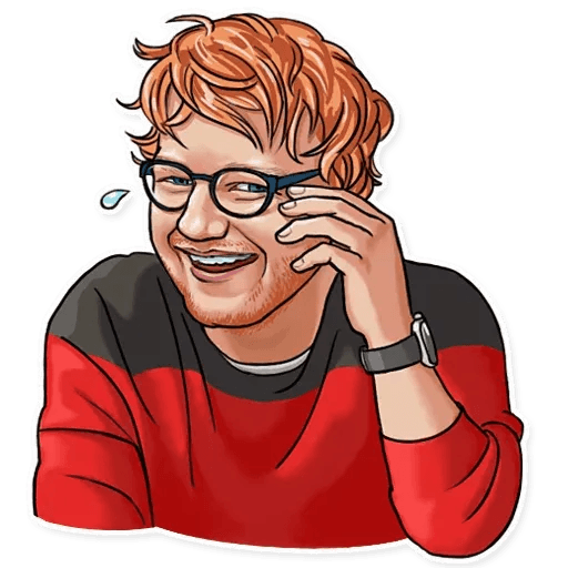 Sheeran - Sticker 1