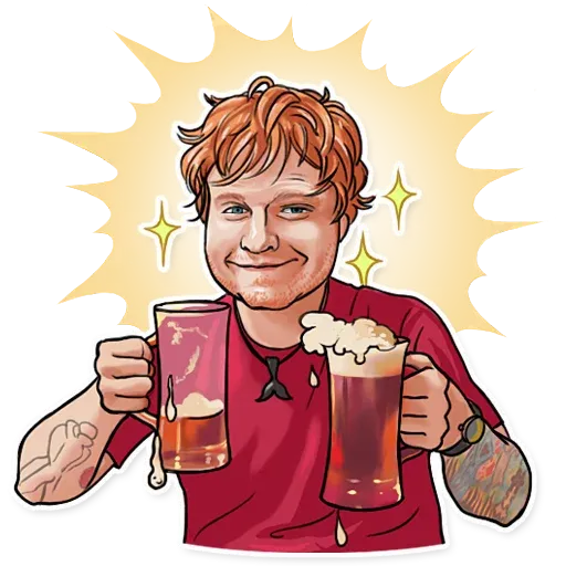 Sheeran - Sticker 13