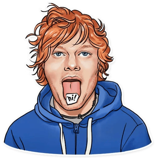 Sheeran - Sticker 5