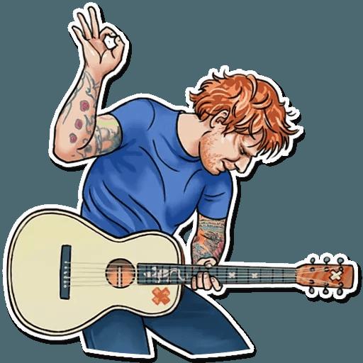 Sheeran - Sticker 22