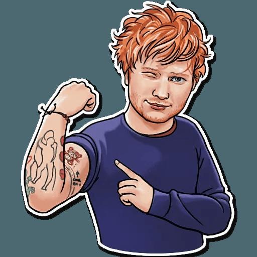 Sheeran - Sticker 29