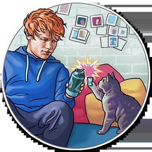 Sheeran - Sticker 9