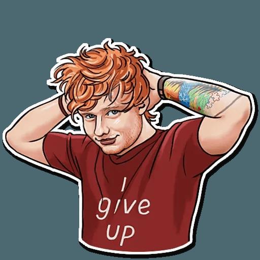 Sheeran - Sticker 27