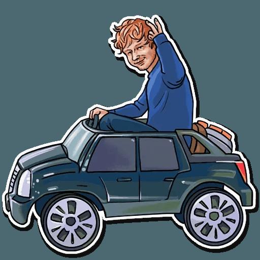 Sheeran - Sticker 7