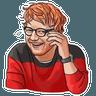 Sheeran - Tray Sticker