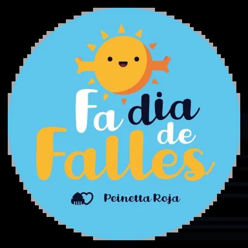 Fallas - Mensajes falleros - Sticker 9