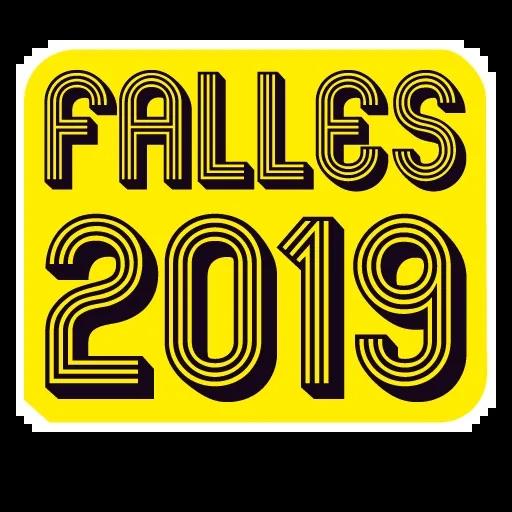 Fallas - Mensajes falleros - Sticker 3