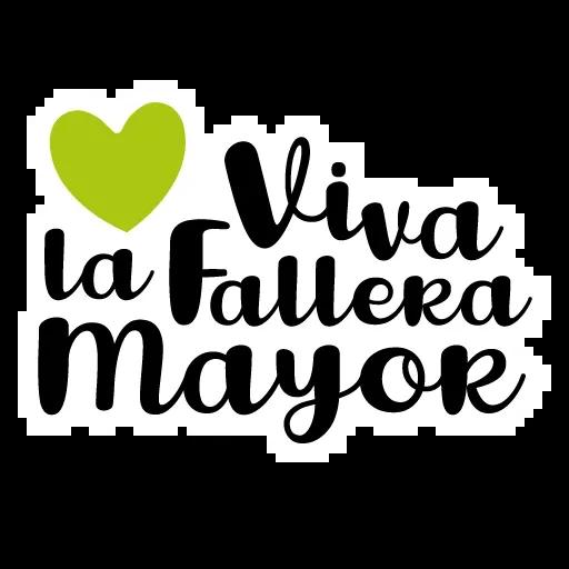Fallas - Mensajes falleros - Sticker 10