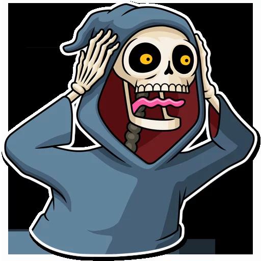 ghost - Tray Sticker