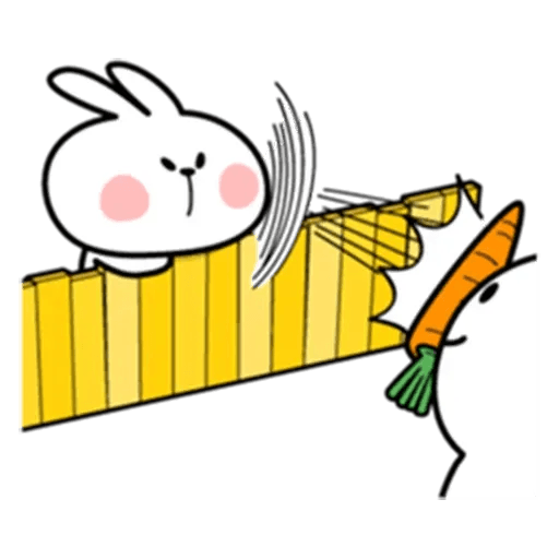 Spoiled rabbit 6 - Sticker 8