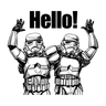 Imperial Troopers - Tray Sticker