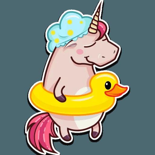 Stella unicorn - Sticker 16
