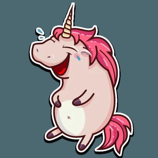 Stella unicorn - Tray Sticker