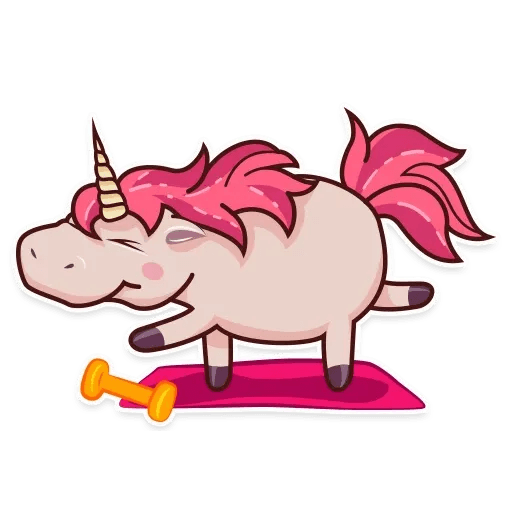 Stella unicorn - Sticker 15