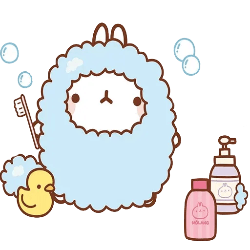 Molang lalalalala - Sticker 1