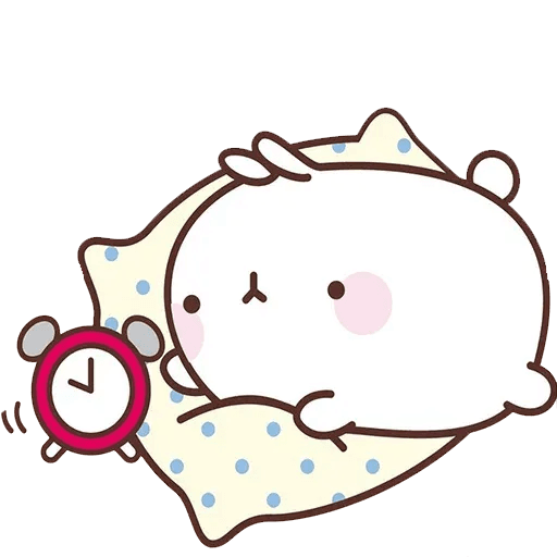 Molang lalalalala - Sticker 5
