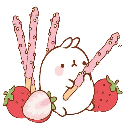 Molang lalalalala - Sticker 2
