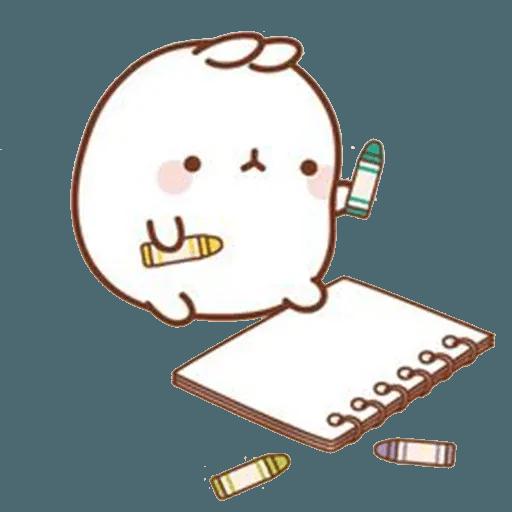 Molang lalalalala - Sticker 26
