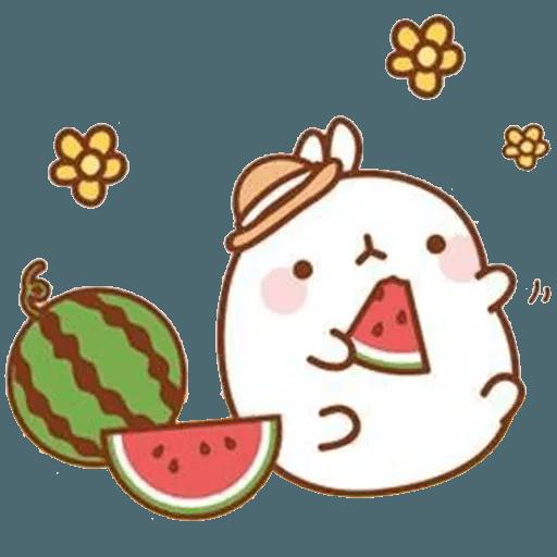 Molang lalalalala - Sticker 8